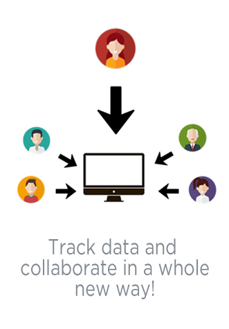 Track data and collaborate in a whole new way!